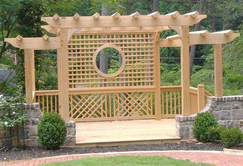 Trellises And Arbors by Arbors And Trellises We Ll Build Your Custom Wood Arbors