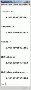 Matlab Integral Berechnen : beispiele zur numerischen integration ~ Themetempest.com Abrechnung