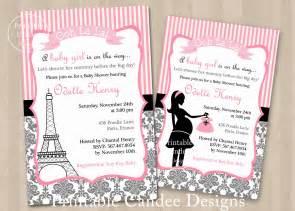 Passport Baby Shower Invitations by Paris Baby Shower Invitations Free Printables