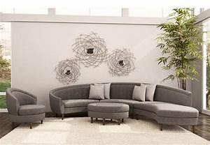 canape demi lune et canape rond 55 designs spectaculaires With tapis exterieur avec canapé deux places roche bobois