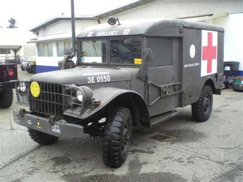 sale dodge  ambulance  offered  aud