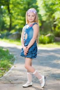 Little Girl Jeans Dress