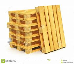 Stack Of Wooden Shipping Pallets Stock Images - Image ...