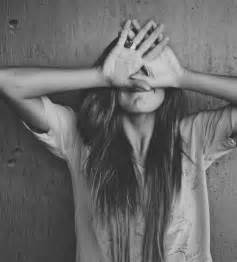 Image result for girl black and white tumblr