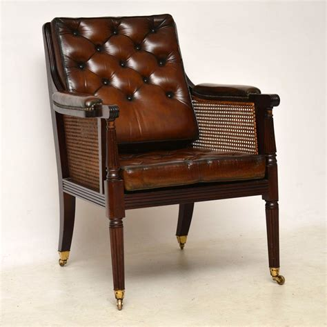 antique leather armchair antique leather caned mahogany armchair marylebone 1286