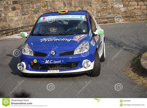 renault clio rally car renault clio rally car editorial image image 69949890