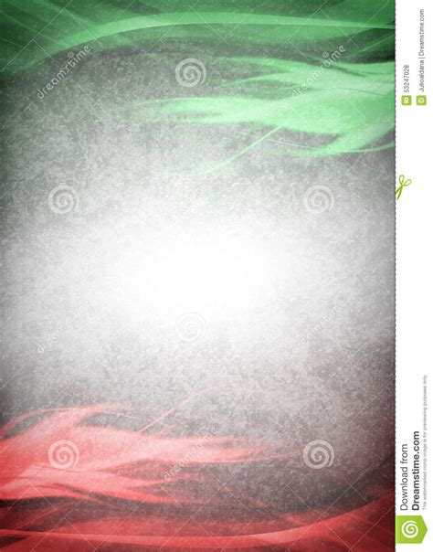 red  green background ready   text stock photo