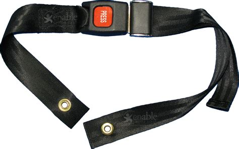 Wheelchair Seat Belt  Pediatric Size With Auto Style Buckle