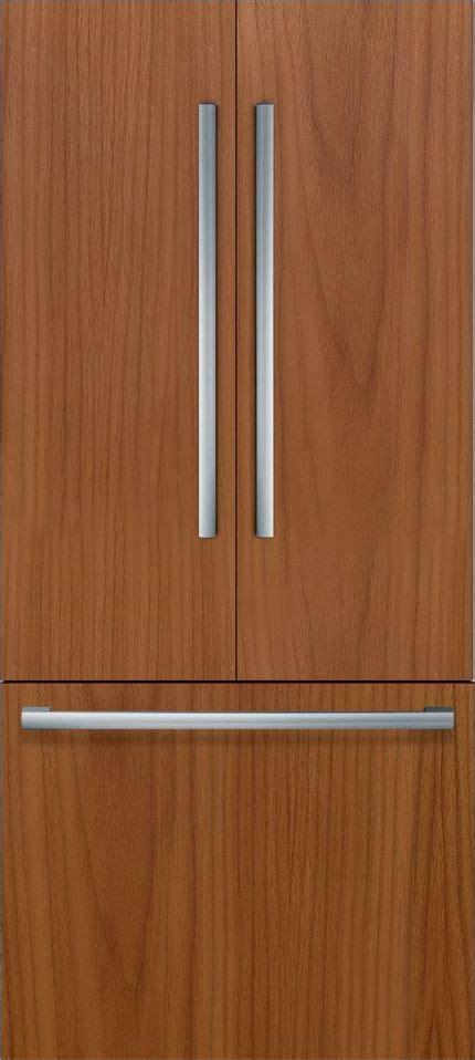 bosch benchmark  cu ft custom panel built  french door refrigerator bitnp dick