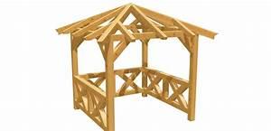 Pavillon 3x3 Holz : walmdach pavillon selber bauen holz ~ Buech-reservation.com Haus und Dekorationen