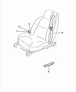 2005 Chrysler Sebring Seat Belt Diagram  Seat  Auto Parts