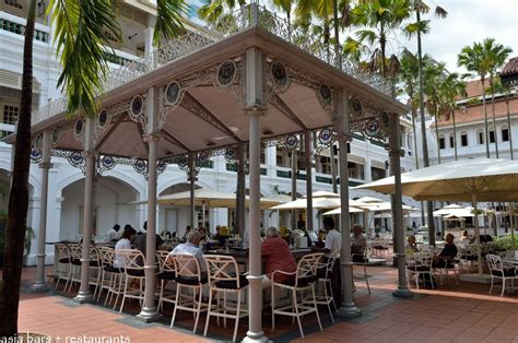 cuisine bar raffles courtyard gazebo bar outdoor restaurant bar