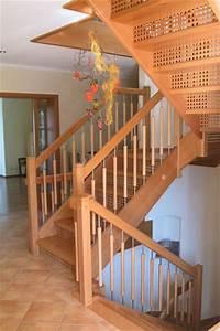 Holz Treppen Und Gelnder Vom Schreiner Aus Westerheim