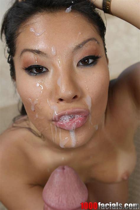Japanese Pornstar Asa Akira eagerly takes a facial - Pichunter
