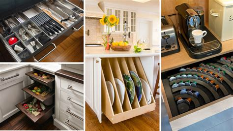 genius kitchen storage ideas  cabinets drawers