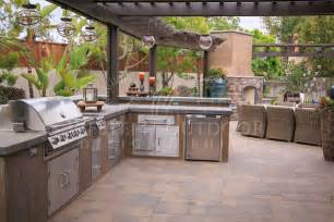 outdoor kitchen island stucco finish bbq islands outdoor kitchens gallery western
