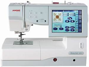 Janome Memory Craft 11000 FS Embroidery And Sewing Machine