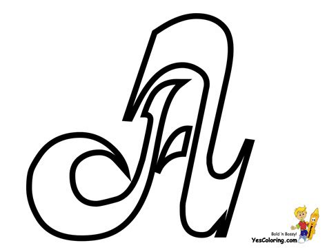 letter a coloring pages cursive letter coloring page free letter