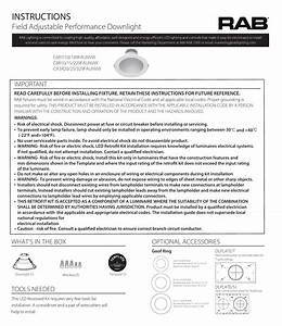 Rab Lighting C6r7  10  189faunvw Recessed Downlight