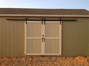 Build Your Exterior Barn Doors with Sliding