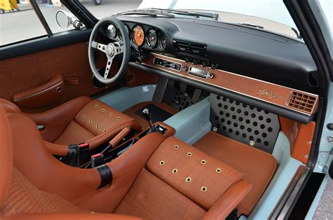 porsche 911 singer interior 911 refurbishment singer vehicle design porsche 964