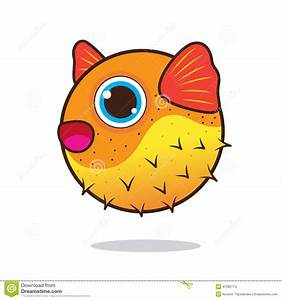 Puffer Fish Cute Cartoon Stock Vector - Image: 47085774