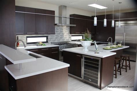 Custom Contemporary & Modern Kitchen Cabinet In Los Angeles