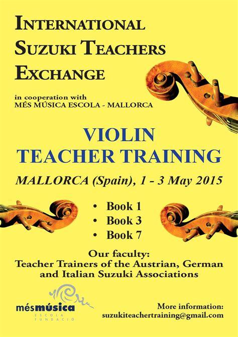 Suzuki Teachers by International Suzuki Teachers Exchange Deutsche Suzuki
