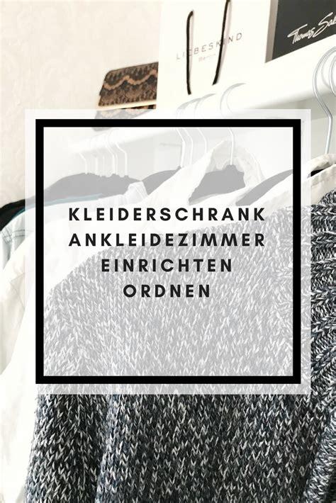 Kleiderschrank Richtig Ordnen by Kleidung Ausmisten Kleiderschrank Einr 228 Umen