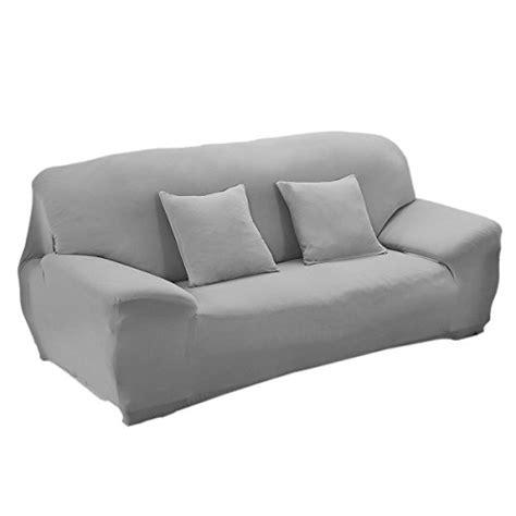 housse de canapé gris winomo housse de canapé salon couverture extensible
