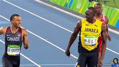 Bolt Usain Grasse Andre Wins Adorableness Athlete