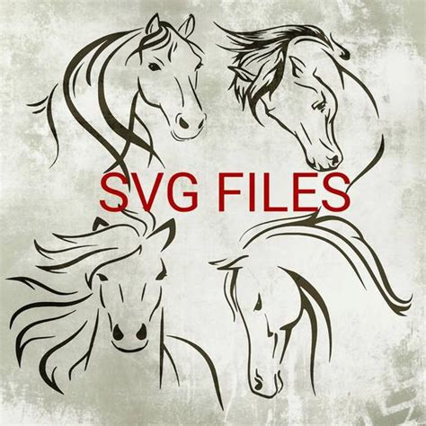 Finding freebies and purchasing cricut access are awesome ways to get svg files for design space. Horse Svg Files Horse Designs for Cricut