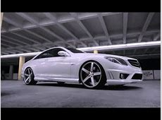 Mercedes Benz CL63 Series on 22
