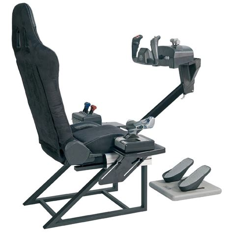 siege simulateur de vol playseats flightseat joystick playseat sur ldlc