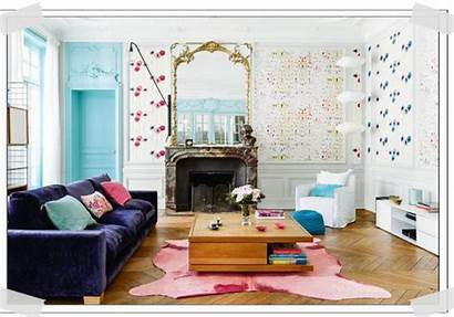Paris Colourful Apartment Tour Italianbark