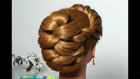 hairstyle  long hair  twist braid updo tutorial