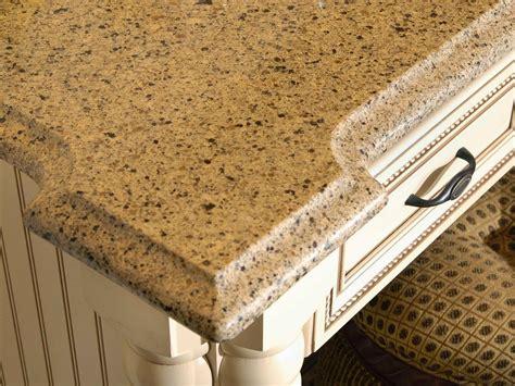 countertop edging choosing kitchen countertops hgtv
