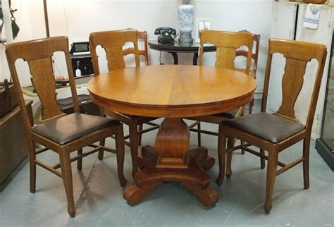 found in ithaca 187 antique tilt top pedestal table sold
