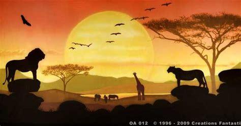african savanah drawing tropical savanna sunset tattoos pinterest habitats savannah