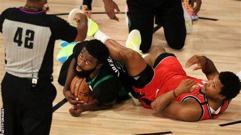 NBA play-offs: Boston Celtics beat Toronto Raptors, LA ...
