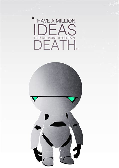 marvin the paranoid android marvin the paranoid android on behance