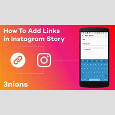 How To Add Links In Instagram Story Youtube