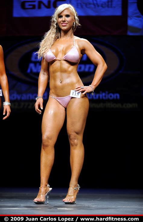 Megan Avalon - twopiece - 2009 NPC San Francisco Championships