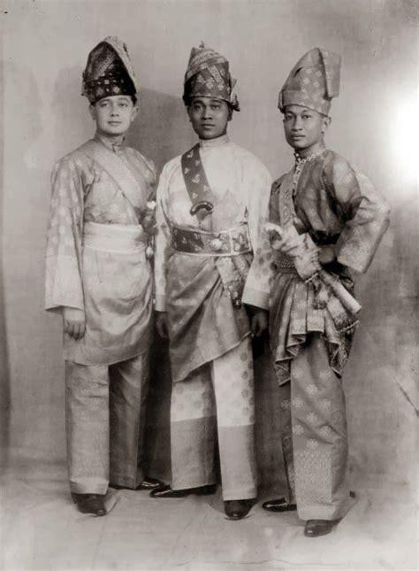 prince  serdang deli  langkat dressed  malay