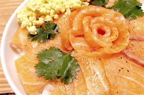 cuisiner saumon surgelé le chirashi de saumon recette simple