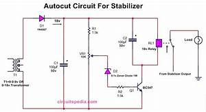 Autocut Circuit Diagram For Stabilizer  Stabilizer High