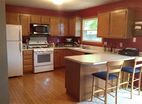kitchen color ideas with brown cabinets remarkable kitchen cabinet paint colors combinations 9190