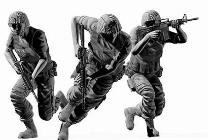 Combat Mobility Rifle Assault Motion Army Iclone