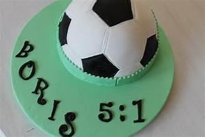 Fussball Torte für meinen Schatz cuplovecake
