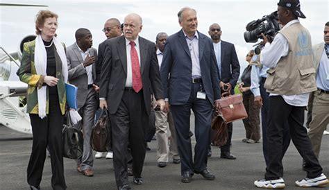 robinson veut renforcer la confiance entre les signataires de l accord cadre d addis abeba